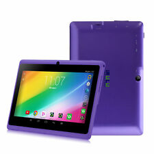 "Violet iRULU 7"" Inch A33 Android 4.4 Quad Core Tablet PC 8GB Dual Camera Wifi BT"