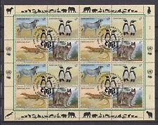 UNO Wien 1993 gestempelt MiNr. 143-146  Gefährdete Arten