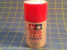 Tamiya PS-33 Cherry Red  Polycarbonate Spray Paint # 86033 Mid-America