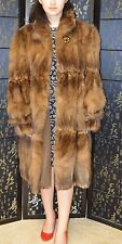 Final Sale! Sable fur coat, great condition, only used few times.size L