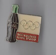 Pin's  coca cola 1988 / Worldwide olympic sponsor