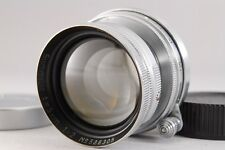【B V.Good】Leica Summitar 5cm 50mm f/2 Lens for L39 Screw w/Caps From JAPAN #2298