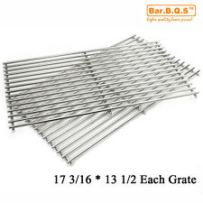 Brinkmann Gas Grill 810-9490-0 Stainless steel Cooking Grid Grates 59812 2pcs