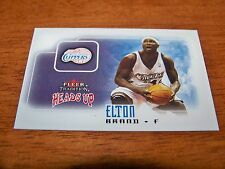 LOS ANGELES CLIPPERS ELTON BRAND 2003-04 FLEER TRADITION HEADS UP #8 OF 10 HU