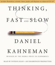 Thinking, Fast and Slow by Daniel Kahneman (2011, CD, Unabridged)