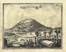 Antique engraving, Schebet Seman plate 41