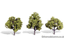 """TR3509 Woodland Scenics Early Light 3 Pack 4"""" - 5"""" Ready Made Trees TMC"""