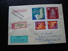 ALLEMAGNE RDA lettre 16/1/74 - timbre stamp germany (cy1)