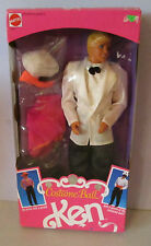 NEVER REMOVED FROM BOX 1990 COSTUME BALL KEN BARBIE DOLL