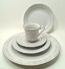 COQUILLE by Crown Ming Fine China 5 Pc Place Setting(s) NICE! Dishes Tableware