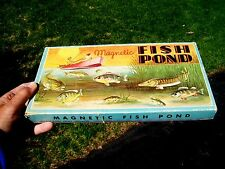 OLD CIRCA 1935  MAGNETIC FISH POND GAME - WHITMAN PUBLISHING CO RACINE WI