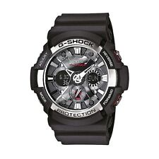 Mens Water Resistance Analogue Casio GA200-1A Watch with World Time Function