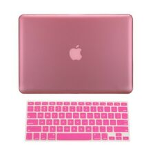 "2in1 PINK Rubberized Case for Macbook Pro 15"" A1398 / Retina display + Key Cover"
