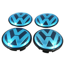 4P car wheel center caps emblem hub Badge 65mm for VW Volkswagen PASSAT GOLF GTI