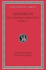 The Orator's Education, II: Books 3-5 (Loeb Classical Library)-ExLibrary
