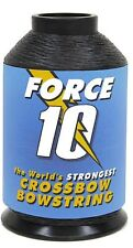 BCY Force 10 Crossbow String 1/4 Spool Black