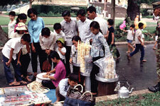 Vietnam 1971- Embroidery And Ice Cream Sones Sunday Afternoon At The Saigon Zoo