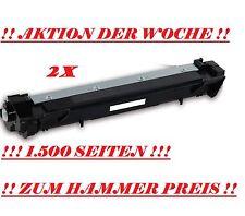 2x XXL CARTUCCIA DI TONER TN1050 PER BROTHER DCP1510 DCP1512 DCP1610W DCP1612
