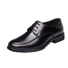 Men's casual Flats Leather Shoes Lace Up  Dress/Formal business Oxford Size 10