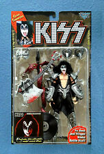 GENE SIMMONS KISS BAND MCFARLANE ACTION FIGURE WITH MODEL RECORD ALBUM 1997