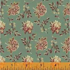 Coryn Floral Cotton Quilt Fabric Windham Small Traditional Print  BFab