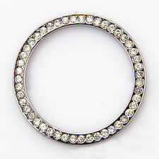 1 Pc Auto Car SUV Decorative Silver Accessories Button Start Switch Diamond Ring