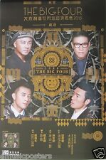 "EDMOND LEUNG/ DICKY CHEUNG/ ANDY HUI/ WILLIAM SO ""THE BIG FOUR"" PROMO POSTER V.1"