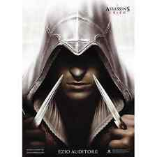 Assassin's Creed II 2 Ezio Auditore Da Firenze mod. 1 Poster 70x100 MEDIOEVO