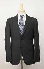 New. CERRUTI 1881 Gray Wool 2 Button Suit Size 50/40 R Drop 7 $795