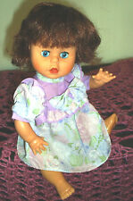 VINTAGE DOLL BY LUCKY INC.1989 11 INCHS GOOD COND