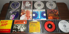 13 Rock Used PROMO CD Single Lot Some Remixes RARE
