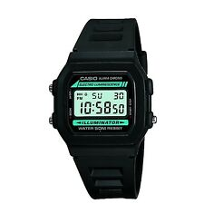 Casio - Black Digital Illuminator Watch - Mens One Size
