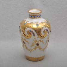 Sevres esplendor jarrón, pieza de ensueño, oro y correo electrónico pintura, marca 1771 (?)