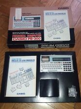 Pocket computer Casio PB 300 PB-300 Personal Computer Calculator BOXED VINTAGE