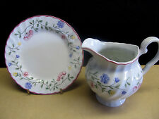 "JOHNSON BROTHERS ""SUMMER CHINTZ""  BREAD PLATES, FRUIT & CEREAL BOWLS, CREAMER"