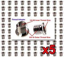 """5x FotoPanda SA1 Screws 1/4"""" to 3/8"""" Tripod / Monopod Adapter / Bushing / Screw"""