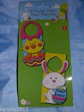 Pasqua 2 trarre le tue schiuma di pasqua porta grucce Chick & Rabbit Egg Hunt Pack 2
