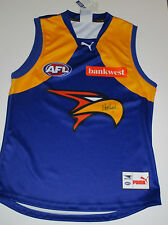 West Coast Eagles - Matthew Priddis (2014 Brownlow) signed away  jersey