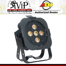 American DJ FLAT PAR TW5 25-Watt Dynamic TRI White LED Par Fixture DMX Light NEW