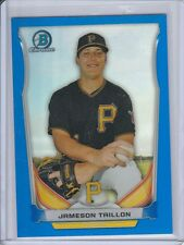 2014 Bowman Chrome Draft JAMESON TAILLON Blue Refractor RC Pirates /399