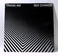 TRANS AM Sex Change VINYL LP Sealed THRILL JOCKEY 2007