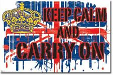 MOTIVATIONAL ART POSTER Keep Calm and Carry On