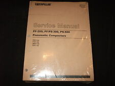 CAT CATERPILLAR PF-200 PF/PS-300 PS-500 COMPACTOR SERVICE SHOP REPAIR MANUAL