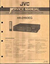 JVC Original Service Manual für HR-D  160 EG