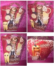 BRATZ FOREVER DIAMONDZ FASHION DESIGN SET VINESSA DOLL W/FREE KEYCHAIN BRAND NEW