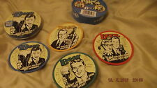 fantastic BEER ADVERT tin containing 4 coasters,nostalgic gift item, new