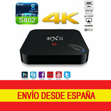 TV Box MXIII-G MX3 Ethernet Gigabit 4K S802 QuadCore Android WIFI 2GB RAM HDMI