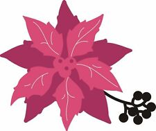CRAFTS CONCEPTS Universal Cutting Dies LAYERED CHRISTMAS POINSETTIA CR381132