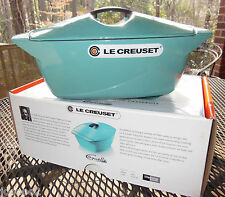 Le Creuset Raymond Loewy Coquelle 5 Qt Turquoise BRAND NEW RARE * FAST SHIPPING*