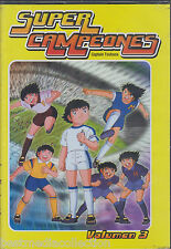 BRAND NEW - Super Campeones / Captain Tsubasa DVD NEW 6 Discs Vol 3 ** BRAND NEW